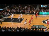 NBA Playoffs 2013.East.1st Round.Game 7.Chicago Bulls - Brooklyn Nets : 99 - 93 (2-я половина)  (04.05.2013)